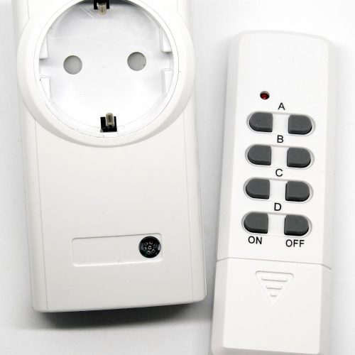 Radio sockets and hand transmitters