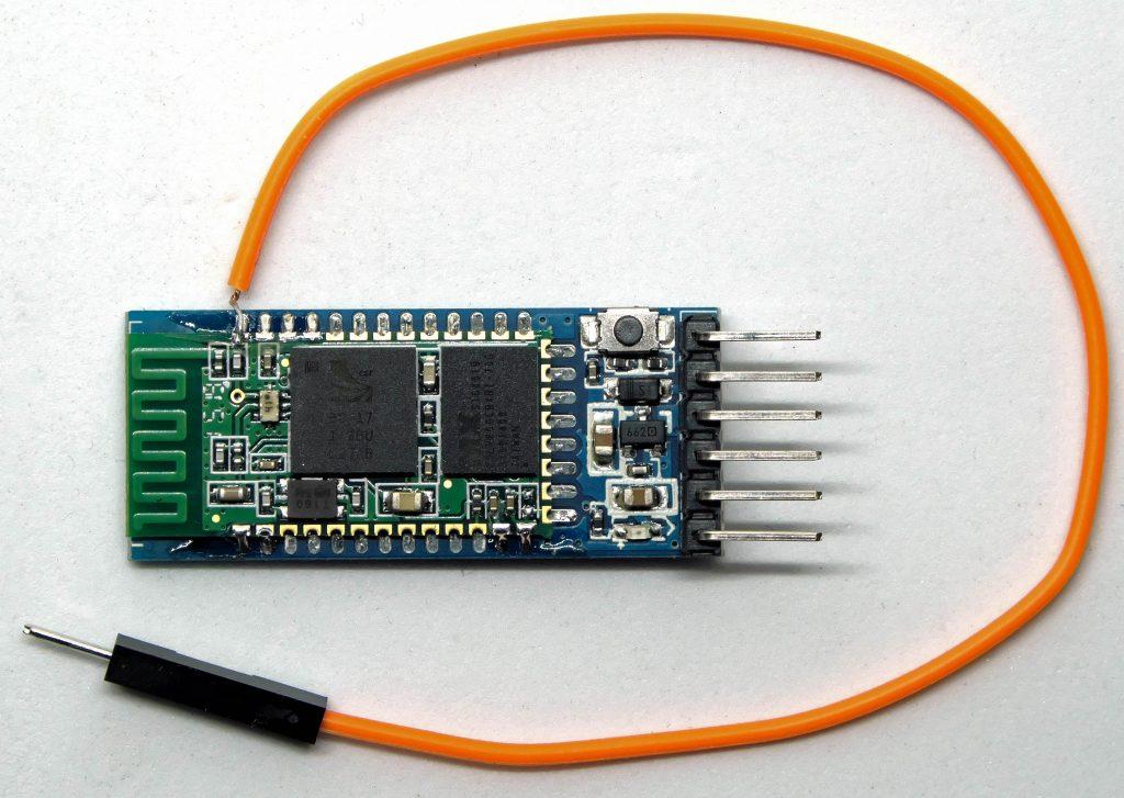 HC-05 mit Anschluss für Pin 34