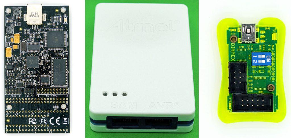 AVR Dragon, Atmel-ICE und USB ISP-Programmer von Tremex/Diamex