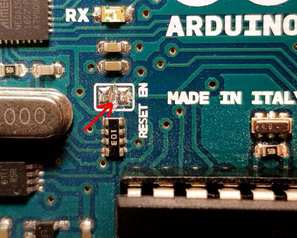 Debugging für den Arduino erfordert einen kleinen Schnitt.