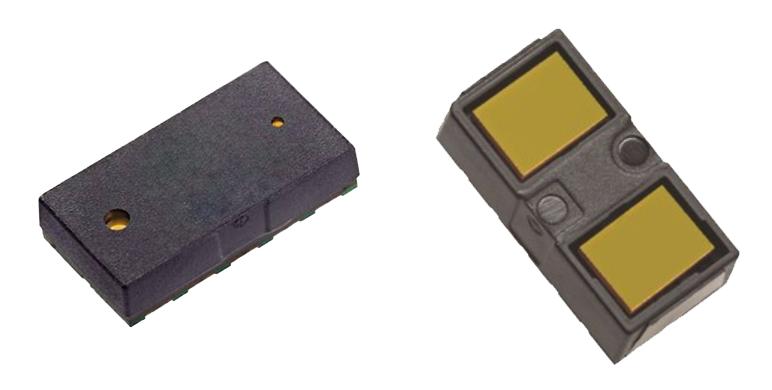 VL53L0X and VL53L1X - the bare sensors