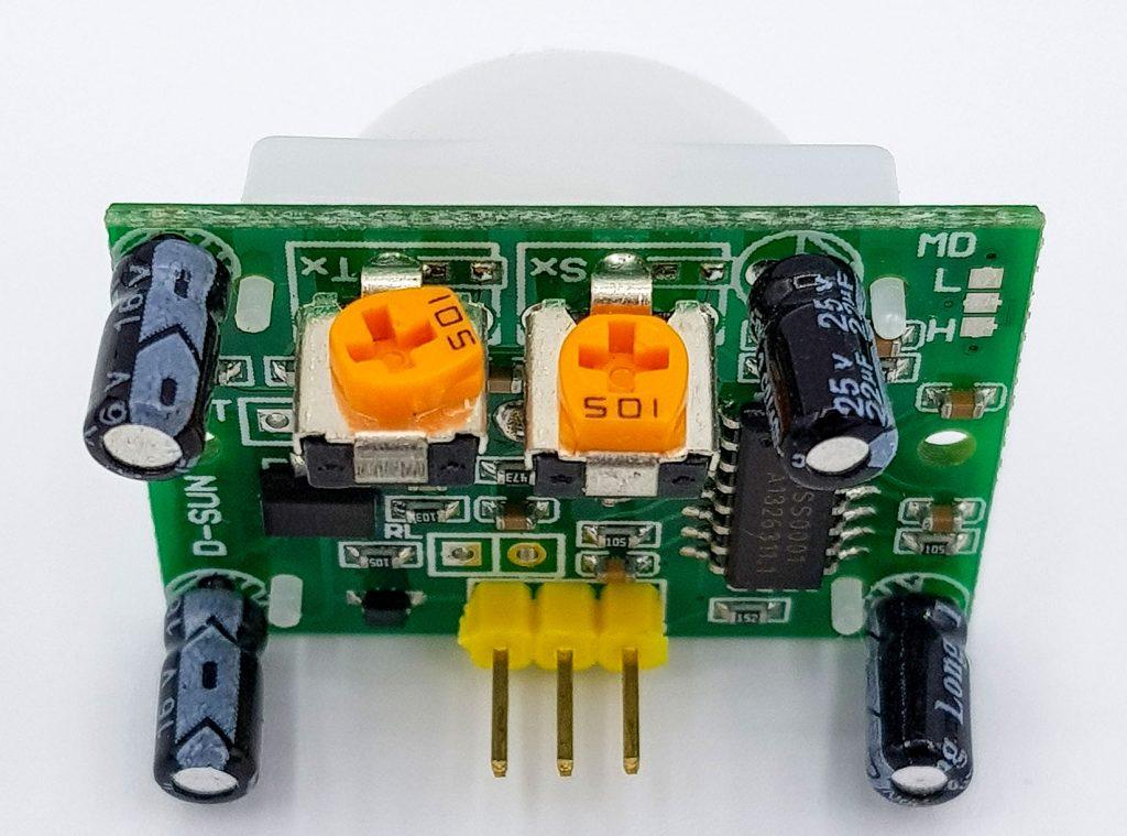Die Potis des HC-SR501
