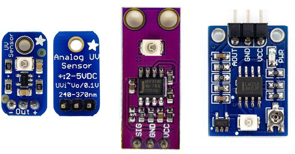 Verschiedene Guva-S12SD basierte Module