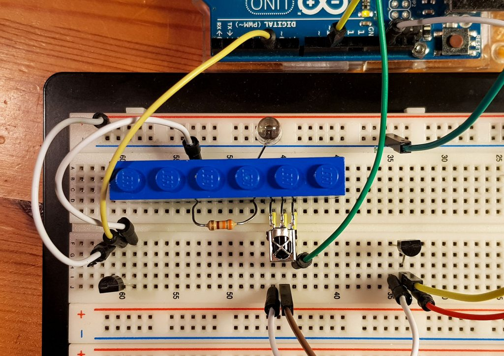 A view on the breadboard