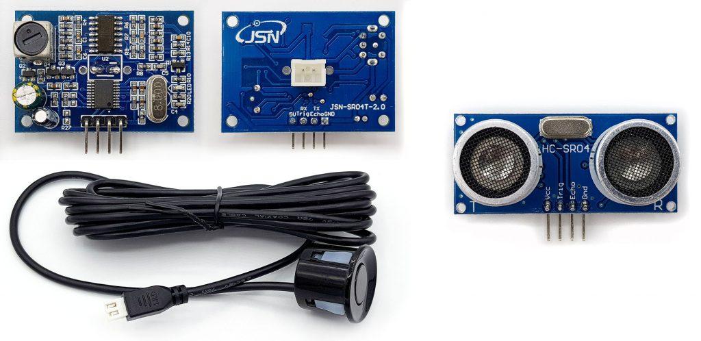 JSN-SR04T und HC-SR04