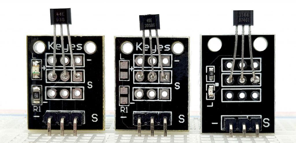 Hall-Sensor Module: 44E, 49E und 3144