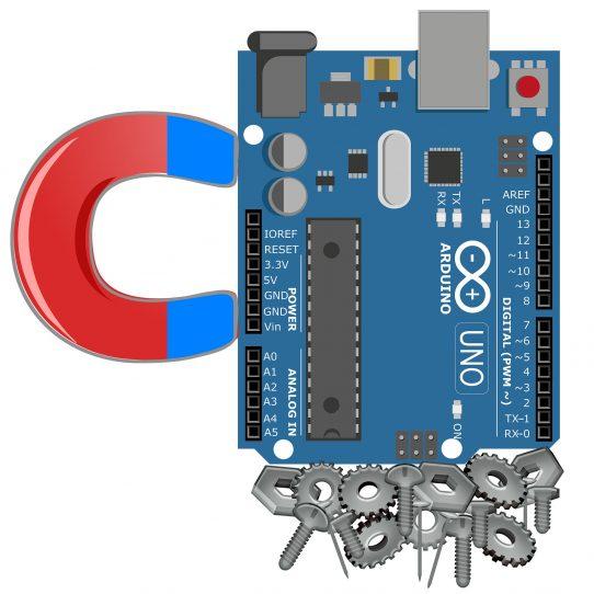 Hall-Sensoren und Reed-Schalter