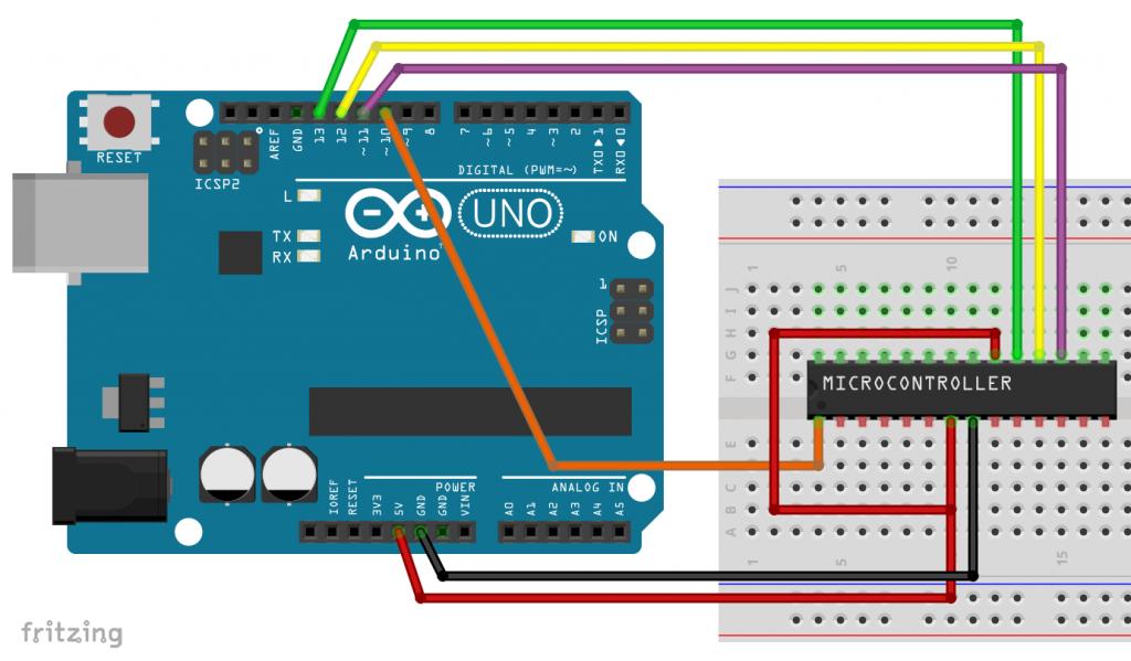 ATmega328P : Bootloader mit dem Arduino UNO brennen