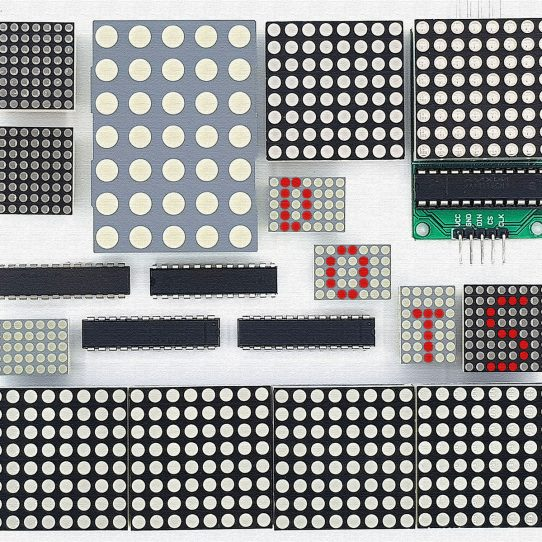 LED Matrix Display ansteuern