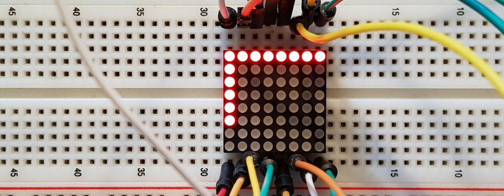 LedControl_Max7219_test.ino: Spalten und Zeilen sind an diesem Display vertauscht