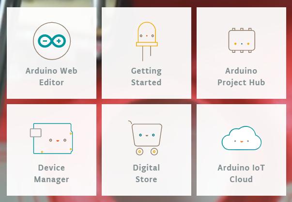 Arduino Create Seite - die zentrale Schaltstelle - auch für die Arduino SIM Karte