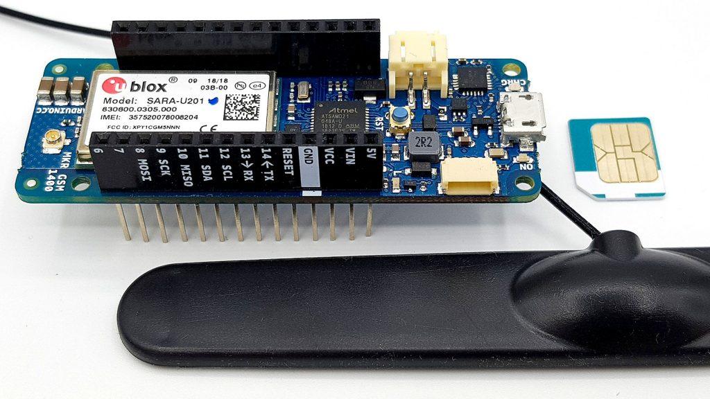 Das Board für die Arduino SIM - der MKR GSM 1400