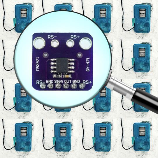 MAX471 Stromsensor