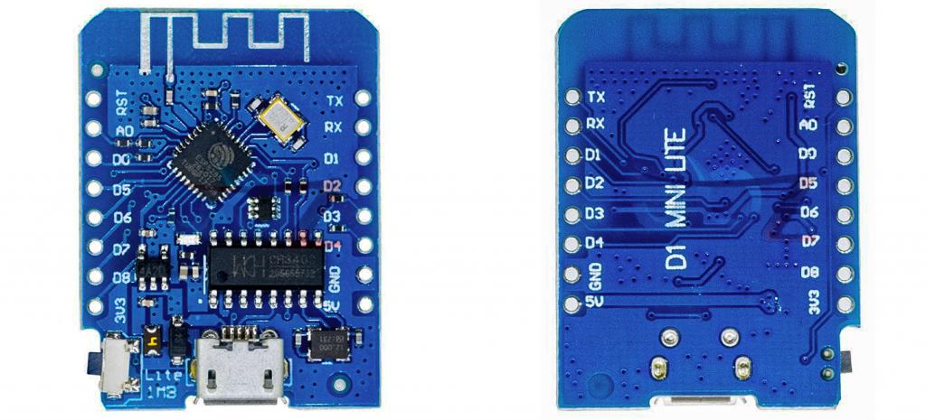 Wemos D1 Mini Lite Board
