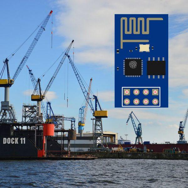 ESP-01 port expansion