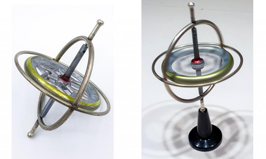 Ein Spielzeug Gyroskop