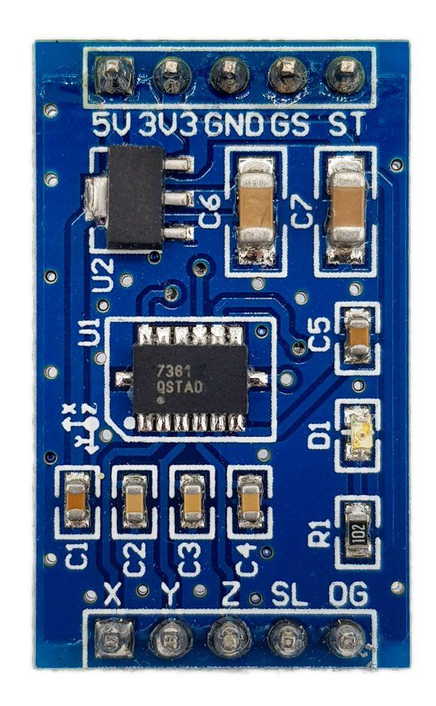 MMA7361 module