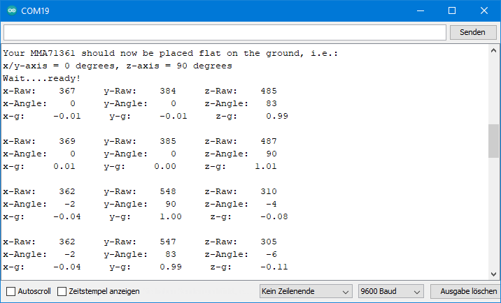 Output of MMA7361_all_data.ino