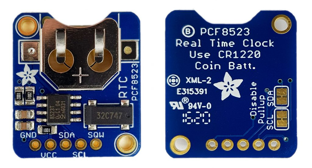 Alternative zum DS3231: der PCF8523