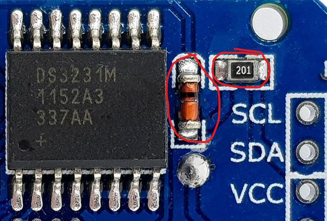 Ladefunktion des DS3231