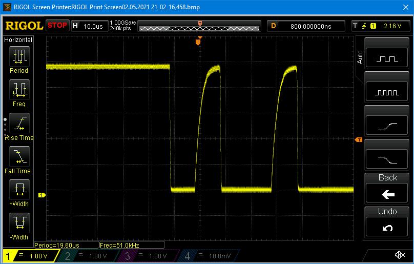 I2C-Signale mit MOSFET
