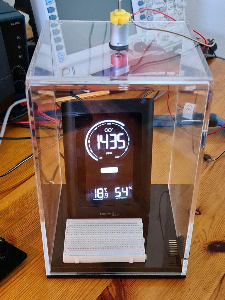 Messkammer für CO2 Sensoren