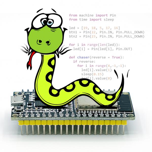 MicroPython – Umstieg von Arduino