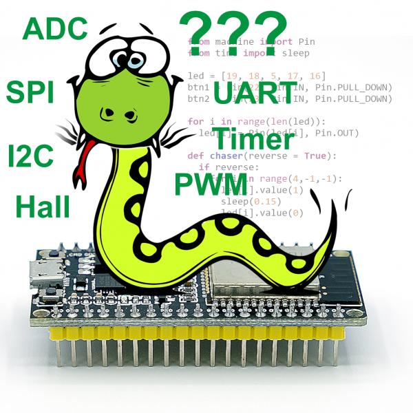 ESP32 mit MicroPython programmieren